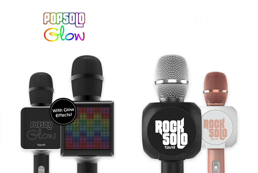 PopSolo   Professional Karaoke Microphone   Don't Just Sing